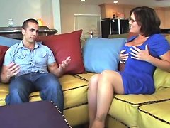 Milf Claire Dames In Sexy Outfit Gets Fixed By Plumber